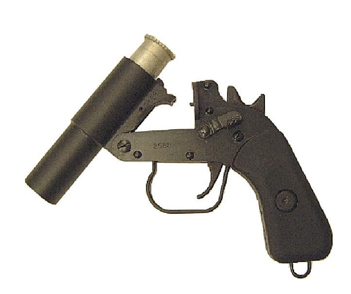 Súng bắn pháo hiệu-UK