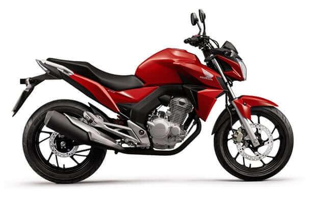 Xe mô tô đặc chủng chuyên dụng dành cho CSGT - Honda CB250 Twister